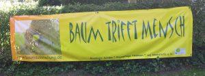Banner zur Baumausstellung